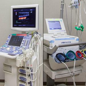 超音波診断装置・血圧脈拍検査装置
